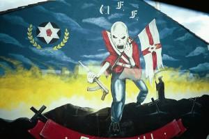 Ulster Freedom Fighters mural in Belfast, Northern Ireland